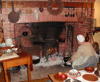 Attirant In An Annual Tradition Spanning 35 Years, Visitors Have Looked Forward To  Gathering Around Durand Heddenu0027s 18th Century Hearth And Experiencing How  ...